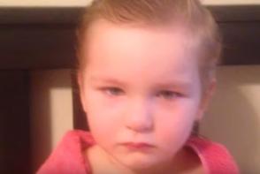 Si-a gasit fiica tunsa dezastruos si a incercat sa inteleaga ce s-a intamplat. Raspunsul micutei este genial