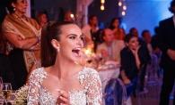 Saruturi pasionale, artificii, multa sampanie si un tort fabulos! Imagini de basm, de la nunta Xeniei Deli, au aparut intr-un nou video