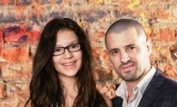 E mai inalta decat tatal ei! Cleopatra si Pavel Stratan, la cea mai recenta aparitie publica - FOTO