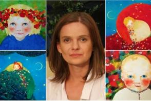 Pictorita Cezara Kolesnik isi expune lucrarile la o seara de arta, cu scop caritabil. Vino si tu sa ajuti copii vulnerabili