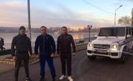 Valerian Manzat loveste din nou! A iesit la alergat in parc intr-un trening de catifea si...cu masina - FOTO
