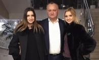 Presedintele ales, Igor Dodon, la brat cu iubita lui Renato Usatii - FOTO