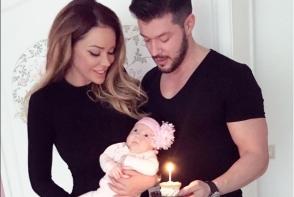 Se declara cei mai fericiti parinti! Imagini emotionante postate de Victor Slav si Bianca Dragusanu - FOTO