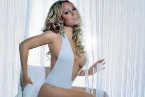 Mariah Carey, la limita bunului simt. Diva a imbracat cea mai scandaloasa rochie - FOTO