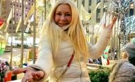 Ludmila Balan, escapada la New York, in ajun de Revelion. Vedeta se bucura ca un copil - VIDEO