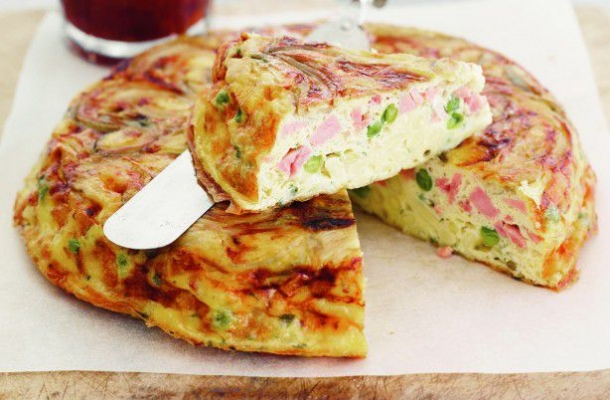 Frittata rapida pentru micul dejun sau pachetul de la serviciu
