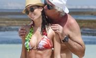 Ea un model sexy, el un batran miliardar! Cum arata cel mai excentric cuplu italian - FOTO