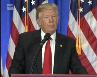 Donald Trump admite, pentru prima data, ca Rusia a stat in spatele atacurilor cibernetice din Statele Unite - VIDEO