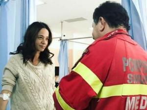 Andreea Raicu a ajuns la spital!