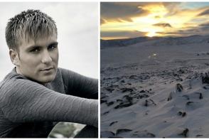 Ionel Istrati a filmat un videoclip la - 35 de grade! Cantaretul si echipa de filmare au mers la granita cu Arctica - VIDEO