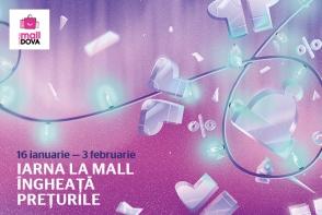 Avalansa de reduceri: iarna la Shopping MallDova ingheata preturile!