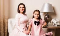 Sorina Obreja, alaturi de fetita ei. Ce mare s-a facut Emilia - FOTO