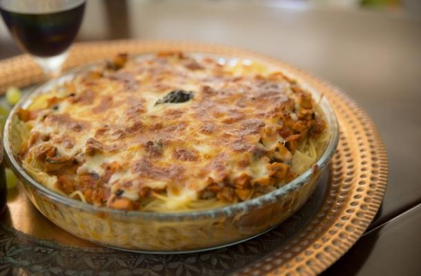 Un deliciu italian: spaghete la cuptor - VIDEO