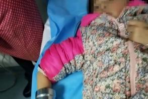 O fetita si-a prins mana in masina de tocat carne! Ce s-a intamplat mai tarziu e groaznic - FOTO