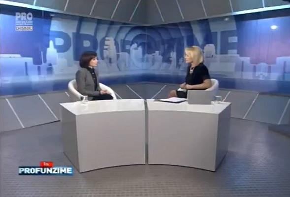 Emisiunea InPROfunzime cu Lorena Bogza. Invitat: Liderul PAS, Maia Sandu