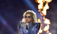 Lady Gaga a facut senzatie la Super Bowl 2017! Prestatia artistei a generat 5,1 milioane de mesaje pe Twitter - FOTO