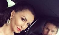 Iubitul Mihaelei Radulescu, cu bustul gol si cu mana in pantaloni. Poza cu care i-a socat pe fani - VIDEO