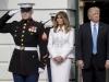 Melania Trump, gafa enorma la Casa Alba. A atins-o pe fund pe sotia prim-ministrului - FOTO