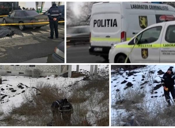 Un barbat a murit, iar altii doi au fost raniti dupa o incaierare cu focuri de arma la un magazin de constructii din Stauceni. Cum s-ar fi intamplat totul - VIDEO
