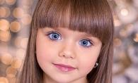 Fetita-papusa cu cei mai patrunzatori ochi! Anastasiya Knyazeva le detroneaza pe
