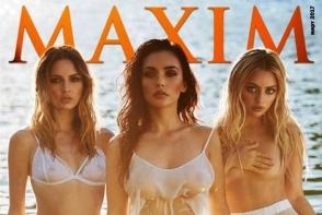 Trupa Serebro, intr-un pictorial fierbinte pentru revista Maxim. Uite cat de senzual au pozat cele trei - FOTO