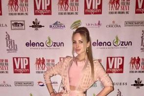 Katalina Rusu, tinuta neinspirata la Top 100 cele mai sexy femei din Moldova. S-a asortat din cap pana in picioare - FOTO