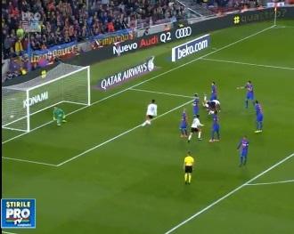 Barcelona a facut show pe Camp Nou si a invins clar Valencia, cu 4 la 2 - VIDEO