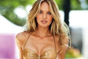 Candice este modelul cu chip de inger si trup de zeita. Cum arata ingerasul Victoria's Secret la 6 luni de la nastere - FOTO