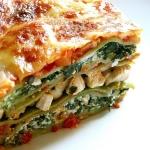 Lasagna cu pui, spanac si branza! O reteta ideala pentru cei care nu tin post