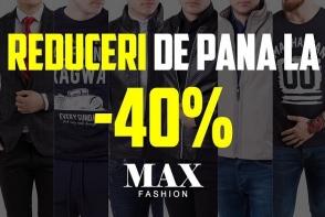 Reduceri de pana la 40% la Max Fashion! Profita de preturile mici si surprinde-ti iubitul cu haine stilate - FOTO