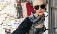 Profesoara de 63 de ani care a devenit model din ... greseala! Cum a reusit femeia care face senzatie in lumea modei - FOTO