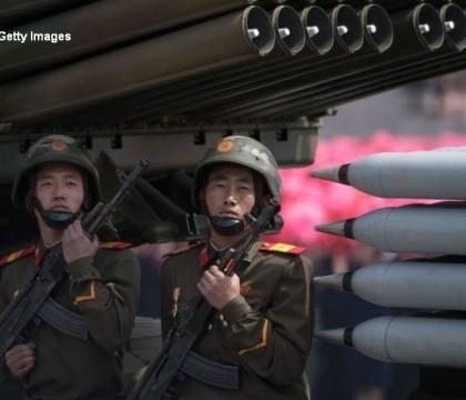 """Parada militara de amploare in Coreea de Nord. SUA, amenintate cu un atac nuclear: """"Suntem pregatiti sa ripostam"""""""