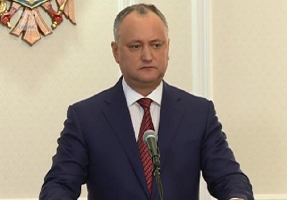 Presedintele Igor Dodon propune sistemul electoral mixt. El vrea ca deputatii sa fie alesi si pe liste de partid nu doar pe circumscriptii cum insista democratii - VIDEO