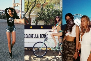 Doina Ciobanu, tinute sexy si extravagante la festivalul american Coachella. Iata cum s-a imbracat moldoveanca - FOTO