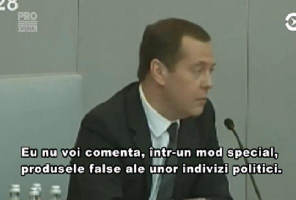 Investigatia opozantului Alexei Navalnai despre averea ascunsa a premierului rus este falsa si nu merita comentarii. A spus-o chiar Dmitri Medvedev, dupa prezentarea raportului anual al guvernului - VIDEO
