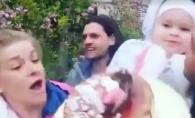 Cat pe ce sa dea tortul jos! Fiica Karizmei, Daria, pusa pe sotii de ziua sa - VIDEO