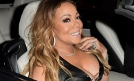 Dezastruos sau sexy? Mariah Carey, intr-o rochie mult prea stramta pentru formele sale - FOTO