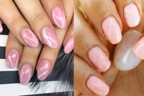 Cel mai nou trend in materie de manichiura! Femeile sunt innebunite dupa unghiile quartz -  VIDEO