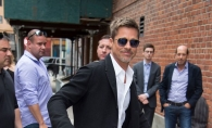 Brad Pitt, extrem de slab si neingrijit la ultima sa aparitie in public. Inca sufera dupa divortul de Angelina Jolie? FOTO
