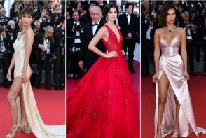 Cele mai frumoase aparitii de la Cannes. Rochiile care le-au facut pe vedete sa straluceasca pe covorul rosu
