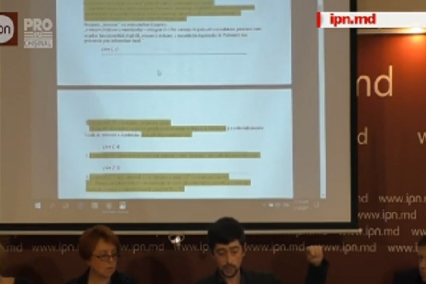 Transparency International - Mixtul socialistilor votat in Parlament este in proportie de peste 90 la suta scris de pe proiectul Partidului Democrat - VIDEO