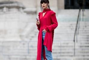 Noul trend in materie de jeans! Ai curajul sa porti blugii 2 in 1 in aceasta vara - FOTO