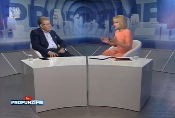 Emisiunea InPROfunzime cu Lorena Bogza. Invitat: Mihai Ghimpu, lider PL