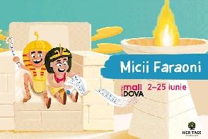 """Expozitia interactiva """"Micii Faraoni"""", la Shopping MallDova"""