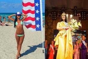 Interviu la inaltime: a schimbat Chisinaul pe Dubai, iar coroana de Miss, pe costumul de stewardesa. Cristina Cosmovscaia a vizitat peste 30 de tari - FOTO