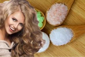 Maseaza-ti scalpul cu sare de mare, pentru un rezultat uimitor! Aceasta face minuni pentru parul tau - FOTO