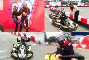 Fast and Furious de Moldova. Reporterul Anna Tulgara, la prima lectie amuzanta de carting - VIDEO