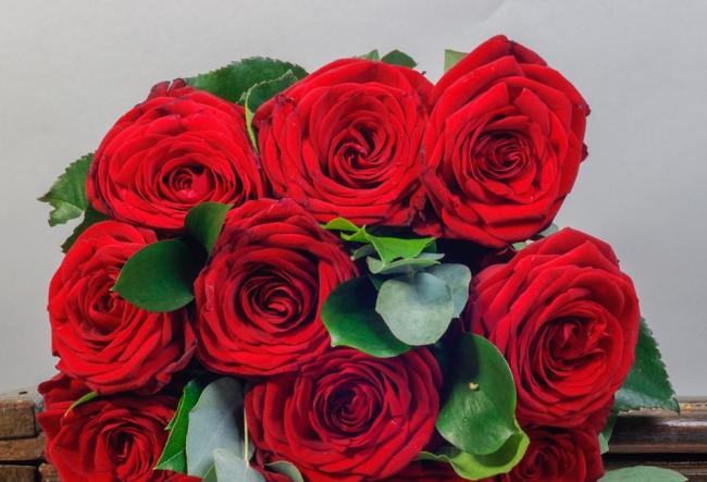 Maxim Zavidia si reporterul Andrei Nistreanu au dat flori de ziua trandafirului rosu - VIDEO