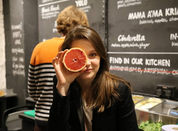 Inghetata pe dos! O reteta inedita, propusa de Aliona Lelenco, fondatoarea Organic Moldova - VIDEO