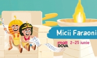 "Expozitia interactiva ""Micii Faraoni"", la Shopping MallDova - VIDEO"